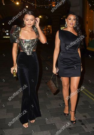 Jessica Wright and guest