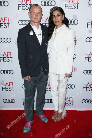 Flea and wife Melody Ehsani