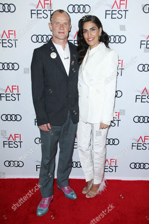 Stock Image of Flea and wife Melody Ehsani