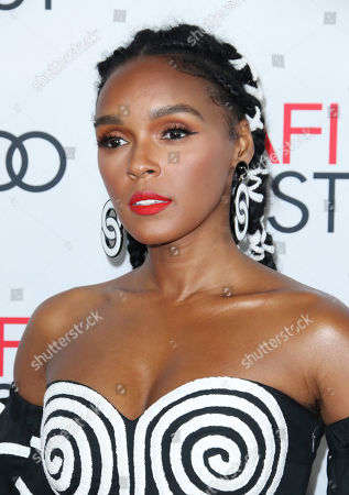 Stock Photo of Janelle Monae