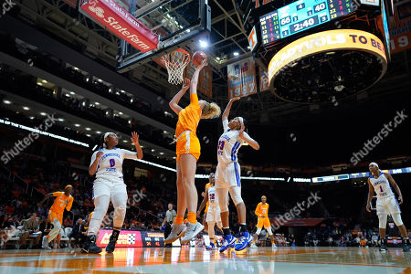 Emily Saunders #31 of the Tennessee Lady Vols shoots the ball during the NCAA basketball game between the University of Tennessee Lady Volunteers and the Tennessee State University Lady Tigers at Thompson Boling Arena in Knoxville TN Tim Gangloff/CSM