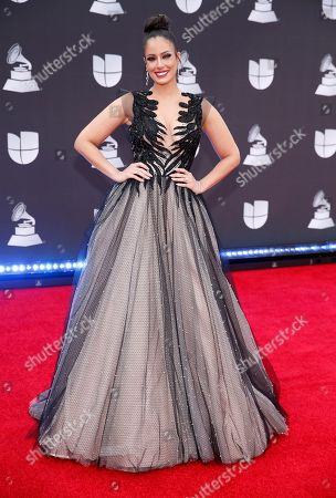 Editorial photo of 2019 Latin Grammy Awards - Arrivals, Las Vegas, USA - 14 Nov 2019