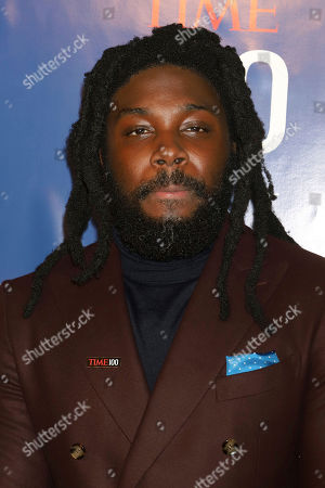 Jason Reynolds attends the first annual TIME 100 Next event, celebrating 100 individuals who are shaping the future in their fields, at Pier 17, in New York