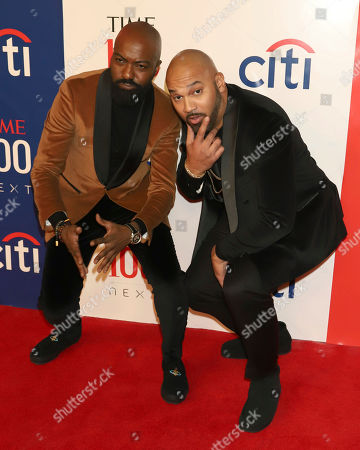 Desus & Mero - Desus Nice and The Kid Mero. Desus Nice, left, and The Kid Mero attend the first annual TIME 100 Next event, celebrating 100 individuals who are shaping the future in their fields, at Pier 17, in New York