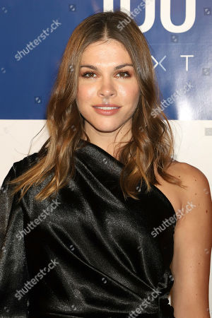 Stock Photo of Emily Weiss attends the first annual TIME 100 Next event, celebrating 100 individuals who are shaping the future in their fields, at Pier 17, in New York