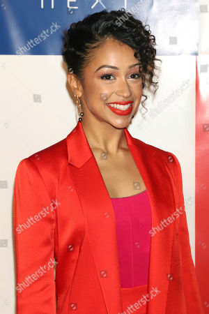 Stock Picture of Liza Koshy attends the first annual TIME 100 Next event, celebrating 100 individuals who are shaping the future in their fields, at Pier 17, in New York