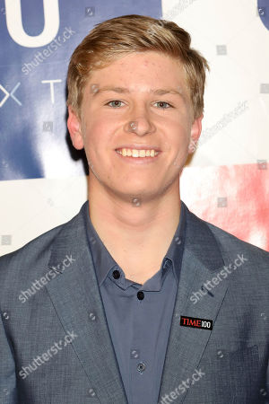 Robert Irwin attends the first annual TIME 100 Next event, celebrating 100 individuals who are shaping the future in their fields, at Pier 17, in New York