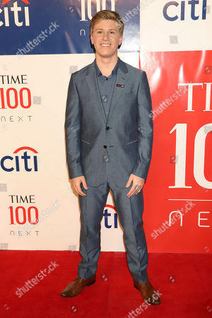Stock Photo of Robert Irwin attends the first annual TIME 100 Next event, celebrating 100 individuals who are shaping the future in their fields, at Pier 17, in New York