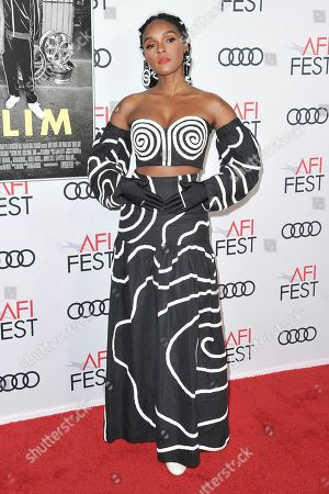 "Janelle Monae attends 2019 AFI Fest opening night premiere of ""Queen and Slim"", in Los Angeles"