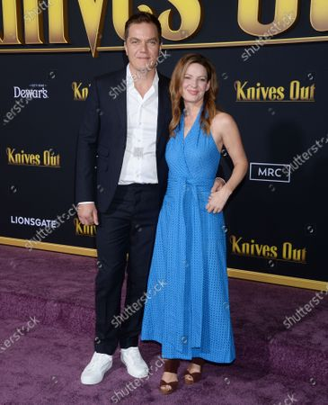 Stock Photo of Michael Shannon and Kate Arrington