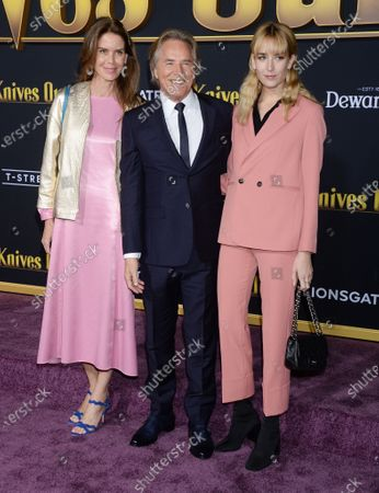 Stock Picture of Kelley Phleger, Don Johnson and Grace Johnson