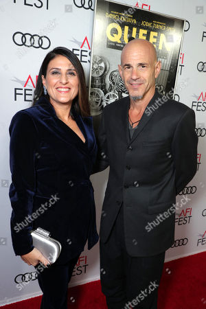 Pamela Abdy, Producer, and Brad Weston, Producer, attend the QUEEN & SLIM World Premiere Gala Screening at AFI FEST 2019 in Hollywood, CA on Thursday, November 14, 2019.