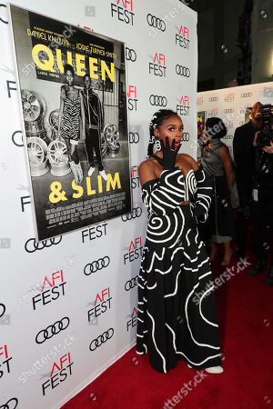Janelle Monae attends the QUEEN & SLIM World Premiere Gala Screening at AFI FEST 2019 in Hollywood, CA on Thursday, November 14, 2019.