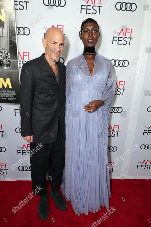 Brad Weston, Producer, and Jodie Turner-Smith attend the QUEEN & SLIM World Premiere Gala Screening at AFI FEST 2019 in Hollywood, CA on Thursday, November 14, 2019.