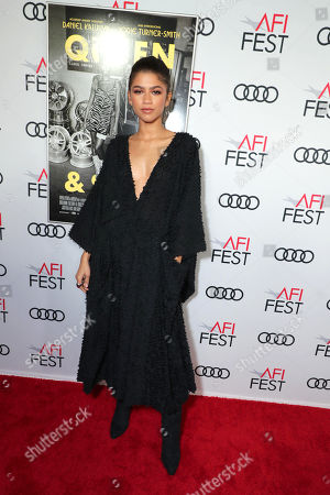 Stock Photo of Zendaya attends the QUEEN & SLIM World Premiere Gala Screening at AFI FEST 2019 in Hollywood, CA on Thursday, November 14, 2019.