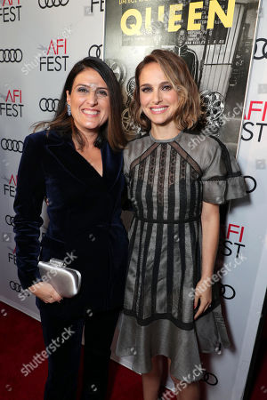 Stock Picture of Pamela Abdy, Producer, and Natalie Portman attend the QUEEN & SLIM World Premiere Gala Screening at AFI FEST 2019 in Hollywood, CA on Thursday, November 14, 2019.