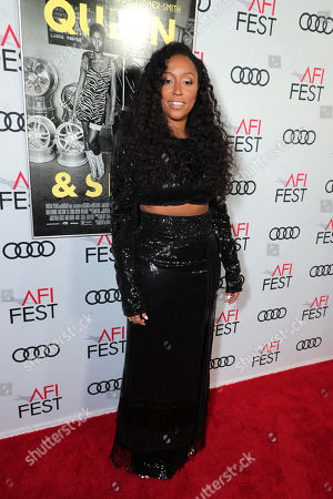 Shiona Turini, Costume Designer, attends the QUEEN & SLIM World Premiere Gala Screening at AFI FEST 2019 in Hollywood, CA on Thursday, November 14, 2019.