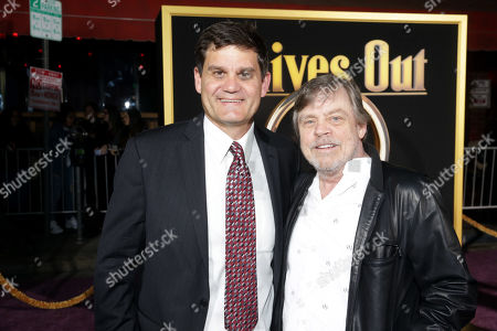 Stock Image of Jason Constantine, Lionsgate President of Acquisitions and Co-Productions, Mark Hamill