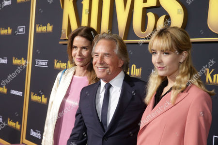 Editorial picture of 'Knives Out' film premiere, Arrivals, Regency Village Theatre, Los Angeles, USA - 14 Nov 2019