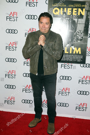 Stock Image of Benito Martinez arrives at the AFI Fest red carpet for the premiere of the movie 'Queen & Slim' at the TCL Chinese Theatre in Hollywood, Los Angeles, California, USA, 14 November 2019. The movie will be released in theaters on 27 November.