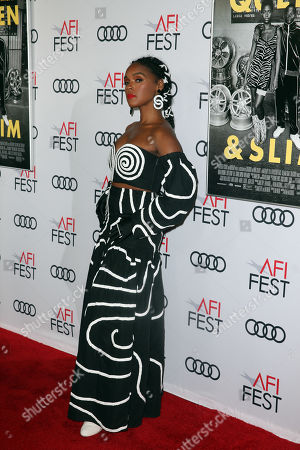 Janelle Monae arrives at the AFI Fest red carpet for the premiere of the movie 'Queen & Slim' at the TCL Chinese Theatre in Hollywood, Los Angeles, California, USA, 14 November 2019. The movie will be released in theaters on 27 November.