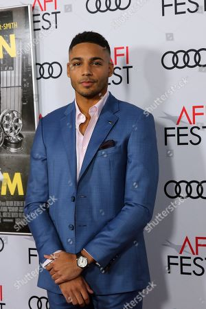 Michael Evans Behling arrives at the AFI Fest red carpet for the premiere of the movie 'Queen & Slim' at the TCL Chinese Theatre in Hollywood, Los Angeles, California, USA, 14 November 2019. The movie will be released in theaters on 27 November.