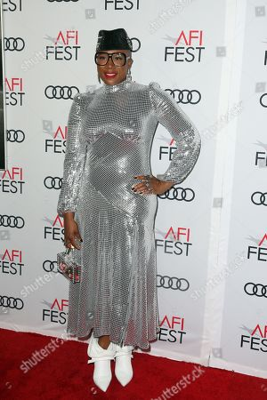 Aisha Hinds arrives at the AFI Fest red carpet for the premiere of the movie 'Queen & Slim' at the TCL Chinese Theatre in Hollywood, Los Angeles, California, USA, 14 November 2019. The movie will be released in theaters on 27 November.