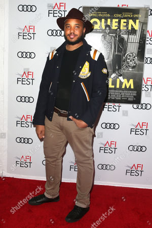 Justin Simien arrives at the AFI Fest red carpet for the premiere of the movie 'Queen & Slim' at the TCL Chinese Theatre in Hollywood, Los Angeles, California, USA, 14 November 2019. The movie will be released in theaters on 27 November.
