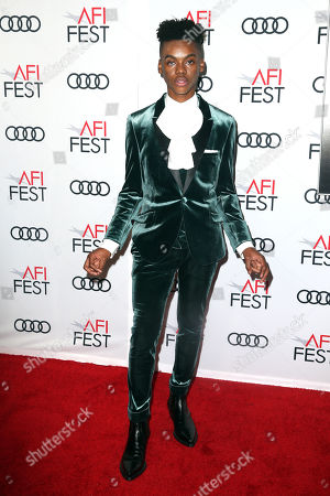 US actor Jahi Diâ?? Allo Winston arrives at the AFI Fest red carpet for the premiere of the movie 'Queen & Slim' at the TCL Chinese Theatre in Hollywood, Los Angeles, California, USA, 14 November 2019. The movie will be released in theaters on 27 November.