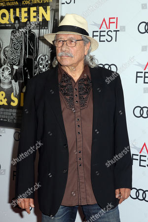 Edward James Olmos arrives at the AFI Fest red carpet for the premiere of the movie 'Queen & Slim' at the TCL Chinese Theatre in Hollywood, Los Angeles, California, USA, 14 November 2019. The movie will be released in theaters on 27 November.