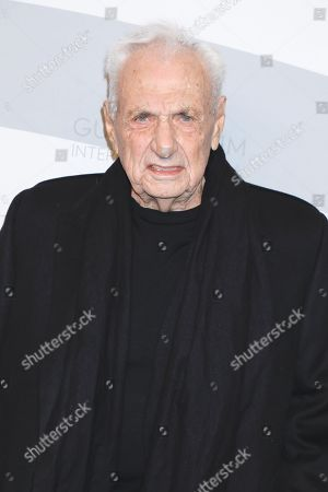Stock Photo of Frank Gehry