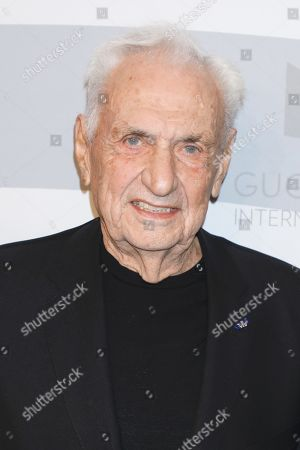 Stock Picture of Frank Gehry