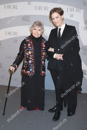 Editorial picture of Guggenheim International Gala, Arrivals, New York, USA - 14 Nov 2019