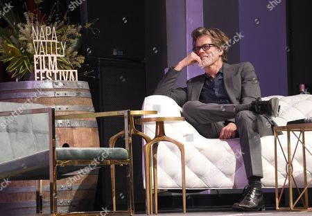 Kevin Bacon receives the Charles Krug 'Legendary Actor' award at the Celebrity Tributes during the Napa Valley Film Festival held at the Lincoln Theater, Yountville, CA @NapaFilmFest #NVFF19