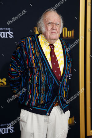 M. Emmet Walsh poses on the red carpet during the premiere of the movie 'Knives Out' at the Regency Village Theatre in Los Angeles, California, USA, 14 November 2019. The movie is set to be released in US theaters on 27 November.