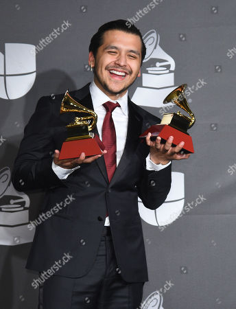 Stock Picture of Christian Nodal