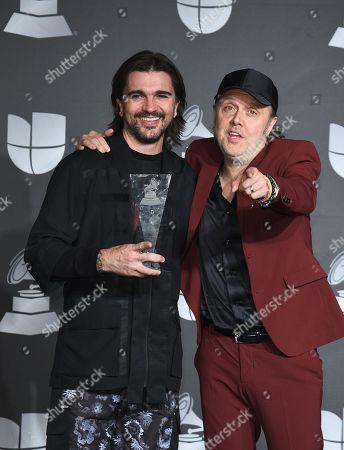 Editorial image of Latin Grammy Awards, Press Room, Grand Garden Arena, Las Vegas, USA - 14 Nov 2019