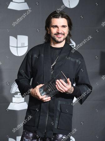 Editorial picture of Latin Grammy Awards, Press Room, Grand Garden Arena, Las Vegas, USA - 14 Nov 2019