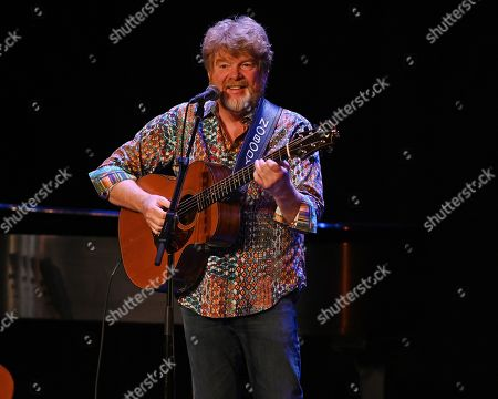 Editorial photo of Mac McAnally in concert at The Broward Center, Fort Lauderdale, Florida, USA - 14 Nov 2019
