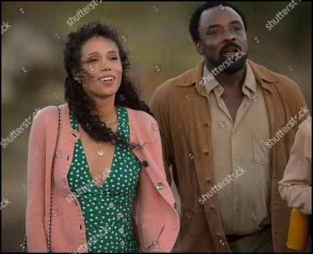 Vinette Robinson as Sylvia Andoh and Ariyon Bakare as Ian Andoh