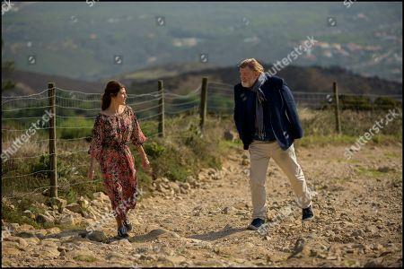 Stock Image of Marisa Tomei as Ilene Bianchi and Brendan Gleeson as Jimmy