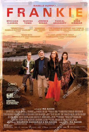 Editorial photo of 'Frankie' Film - 2019