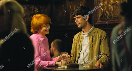 Emily Beecham as Alice and Ben Whishaw as Chris
