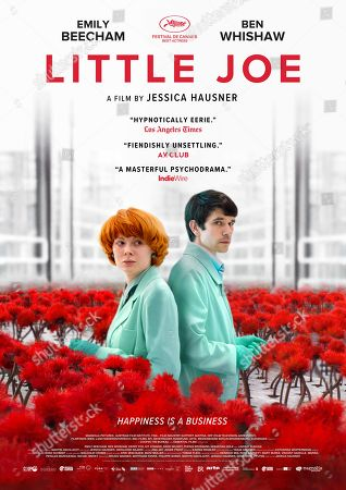 Little Joe (2019) Poster Art. Emily Beecham as Alice and Ben Whishaw as Chris