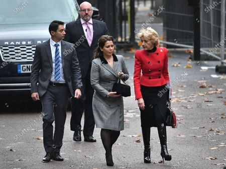 Princess Haya of Jordan is seen arriving at The Family Court devision of the Royal Courts of Justice in London