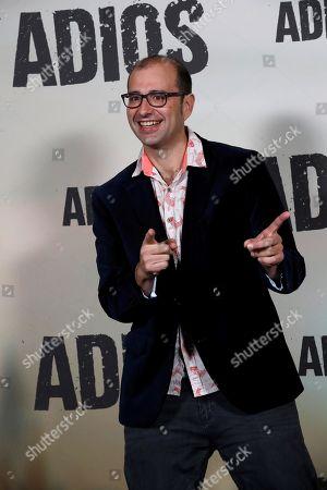 Editorial image of Presentation of movie Adios in Madrid, Spain - 15 Nov 2019