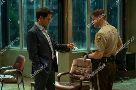 Steven Pasquale as Scott Connor and Jeremy Jordan as Paul Larkin