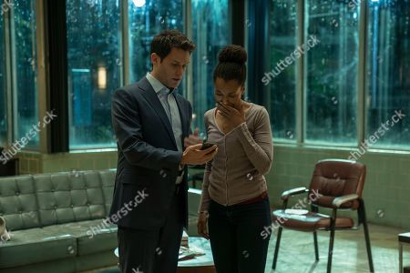 Steven Pasquale as Scott Connor and Kerry Washington as Kendra