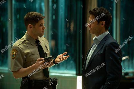 Jeremy Jordan as Paul Larkin and Steven Pasquale as Scott Connor