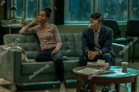 Kerry Washington as Kendra and Steven Pasquale as Scott Connor
